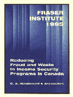 Cover of the Fraser Institute Report